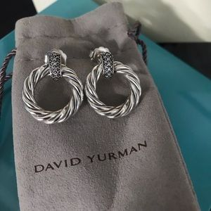 🌸 David Yurman Diamond Earrings 🌸